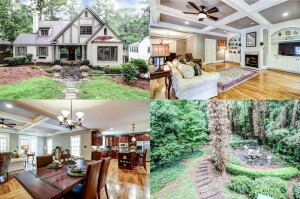 A million-dollar home listed in the Redfin data-base for Atlanta.