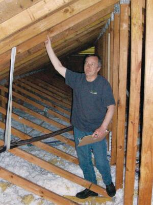 (Pictured: Joe Thomas) Assessments cost $500 for houses with up to two HVAC systems and $600 for houses with up to three systems.