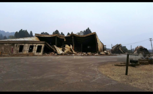 Lake Chelan Building Supply After Fire courtesy Lake Chelan Building Supply