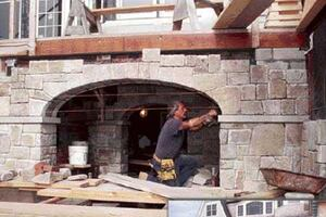Building Stone Arches