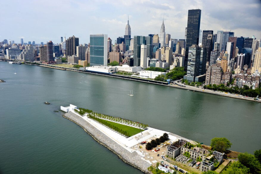Franklin D. Roosevelt Four Freedoms Park in New York