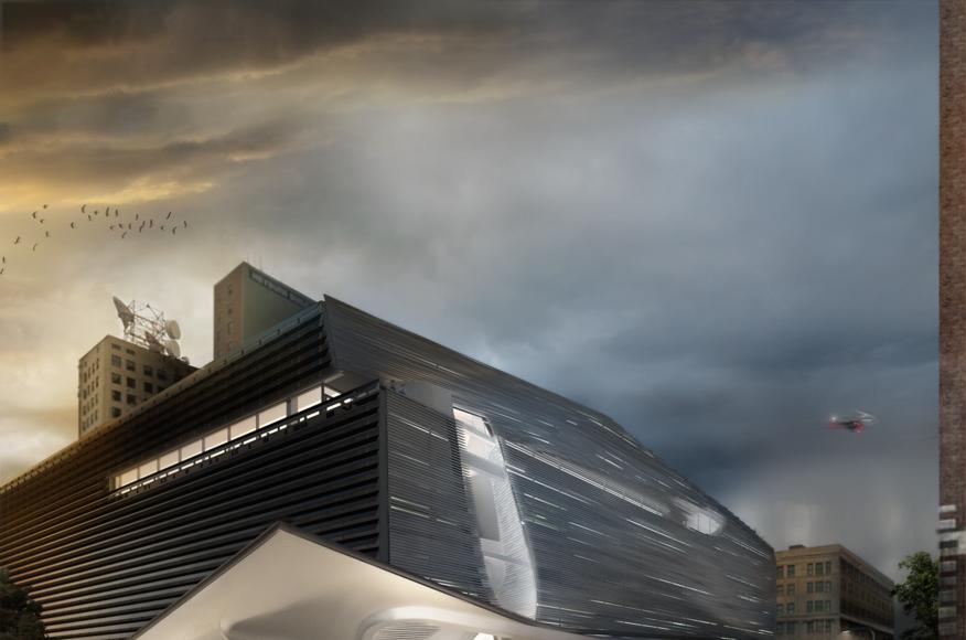 Modern Architecture Louisville Ky grey matter | louisville children's museum competition | architect
