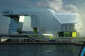 New Keelung Harbor Service Building
