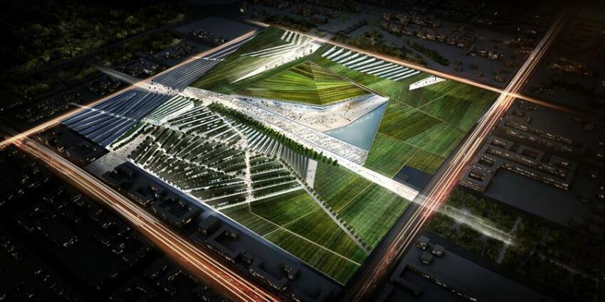 Snøhetta design for Expo 2017
