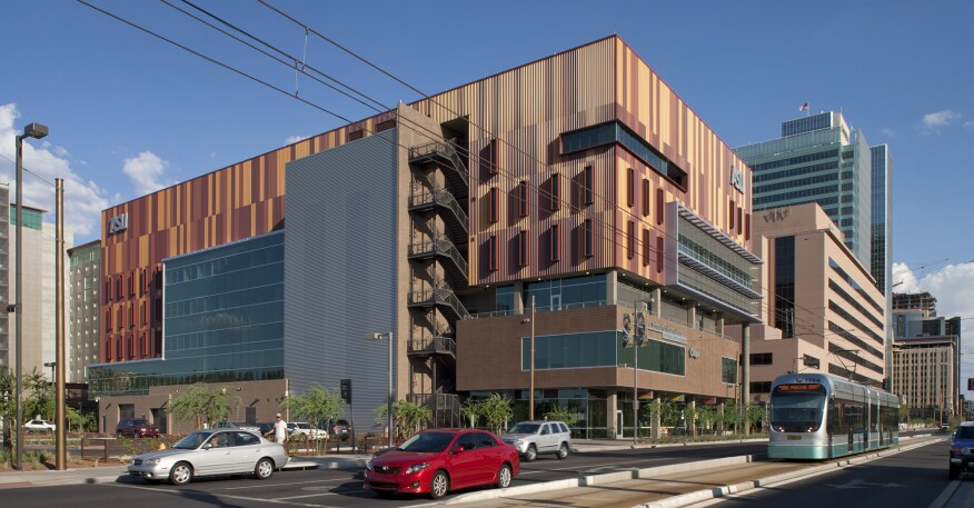 Walter Cronkite School of Journalism and Mass Communication in Phoenix, Ariz.