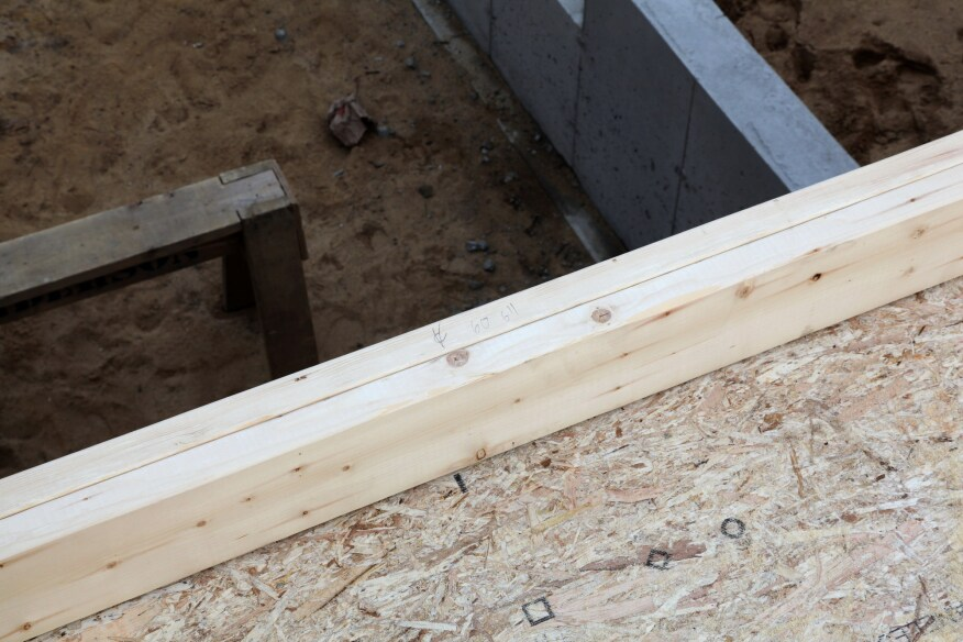 Layout For Exterior Wall Framing Jlc Online Framing Measuring And Layout Tools