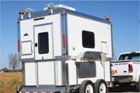 Fuel-efficient low-profile trailer