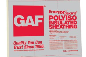 Gaf S Energyguard Polyiso Insulated Sheathing Prosales