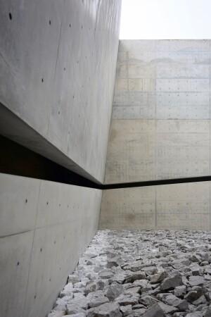 Gravity-defying walls: Chichu Art Museum by Tadao Ando, Naoshima, Japan, 2004.