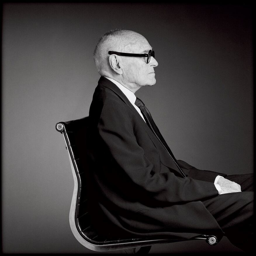 'Philip Johnson, 2000'