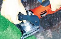 Ergonomic and power tools can include helpful features such as angled handles, padded handgrips, and nonslip coatings.