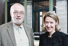 Q&A: Bill Moggridge and Caroline Baumann