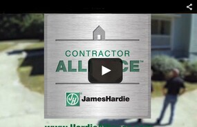 The James Hardie Contractor Alliance™ Program Introductory Video