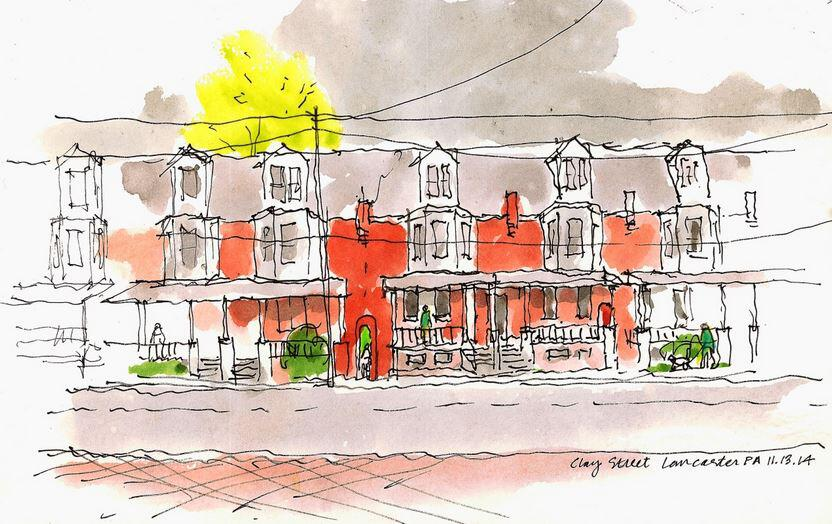The Row Houses of Lancaster