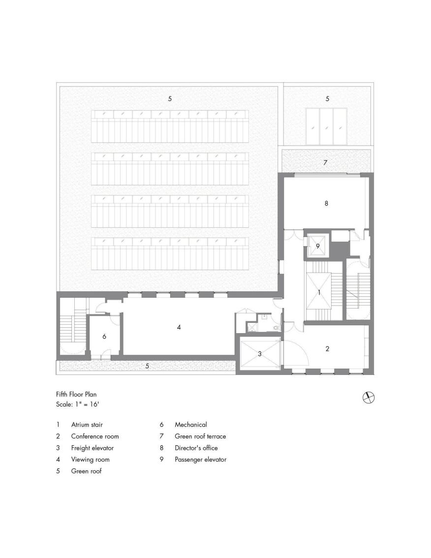 Fifth-Floor Plan