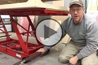 A Hydraulic Lift Table on Wheels