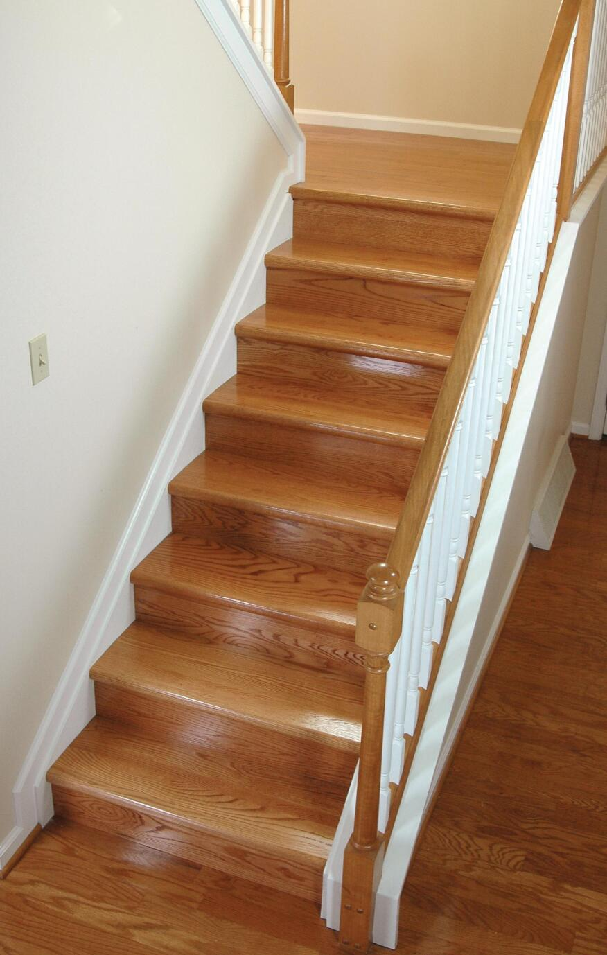 A Step In The Right Direction Starecasing Hardwood