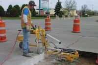 Multidirectional concrete drill