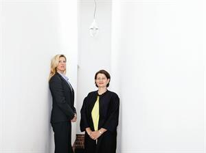 Danielle Dignan (left) of DM Development and Anne Fougeron of Fougeron Architecture are an industry rarity: a woman developer and woman architect who are collaborating on a project—a condo-and-retail development in San Francisco's Hayes Valley.