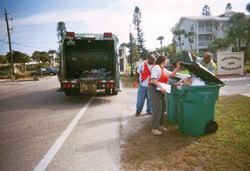 Auditors took inventory of carts in this Charlotte County, Fla., neighborhood. The  full audit took several months because auditors had to pull together  different types of data. Photo: SCS Engineers