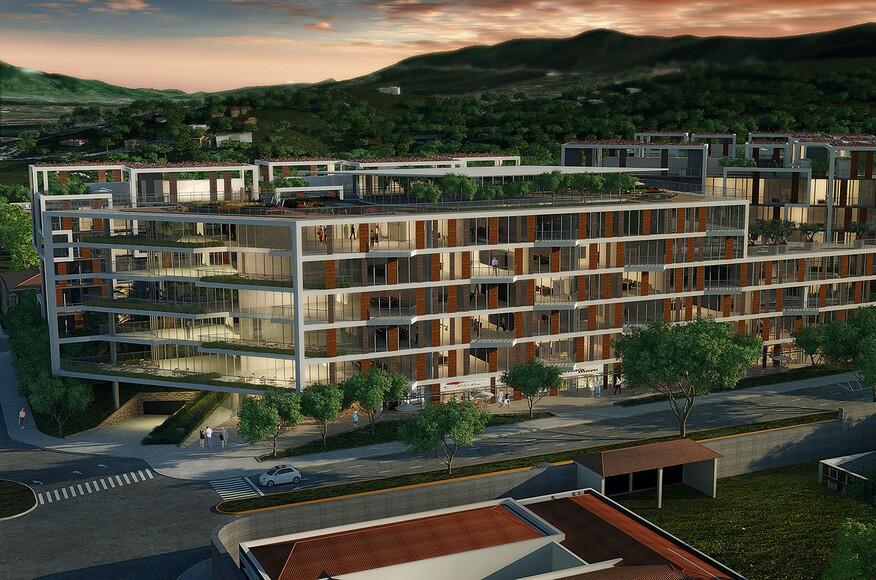 Yoo cumbaya architect magazine uribe schwarzkopf for Office design quito