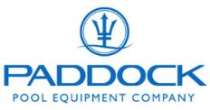 Paddock Pool Equipment Co. Logo