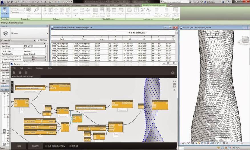 Autodesk Dynamo screenshot