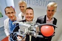Recycling run by robots