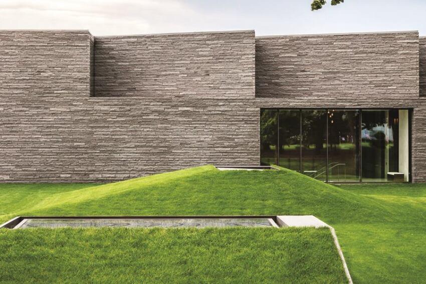 Lakewood Mausoleum, designed by HGA