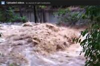 Flooded Boulder Creek