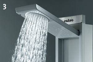 Skyline shower panel by Hansgrohe