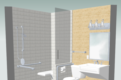 universal design bathroom before and after - Universal Design Bathrooms