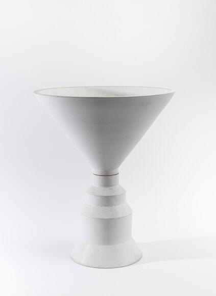 Tantra vase, 1968; stoneware.