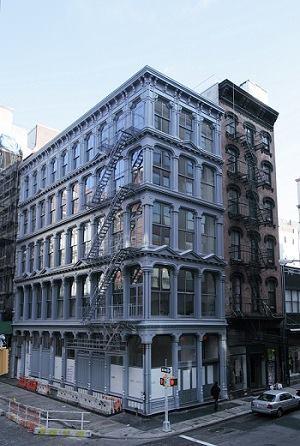 101 Spring Street, exterior. 2013.