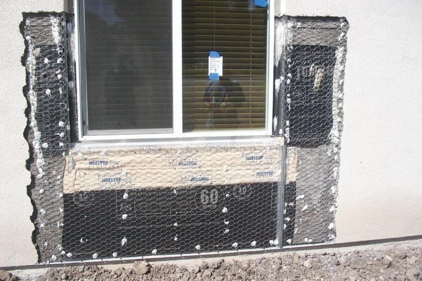 Keeping Water Out of Stucco Walls