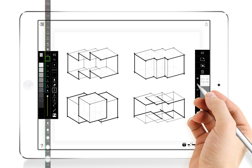 Architecture Drawing Ipad morpholio launches scalepen for its trace app | architect magazine