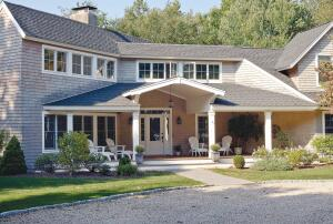 Though generous eaves, like those on this remodeled Connecticut home, help reduce UV exposure, they donít eliminate it.