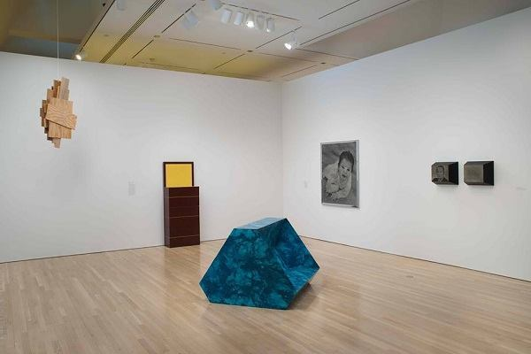 "Installation view from ""Richard Artschwager!"""
