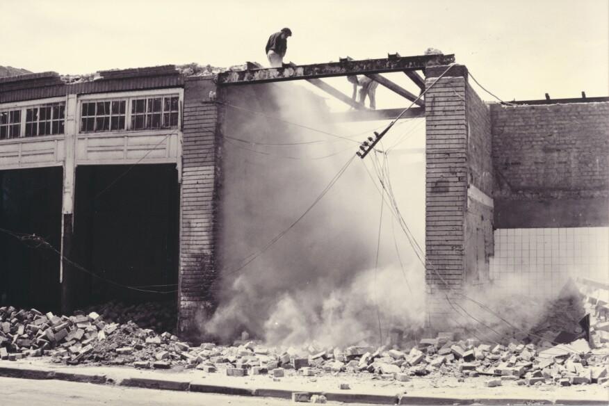 The demolition of Haifa Street in Baghdad (1981)