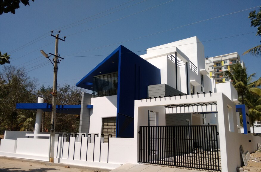 Modern villa designs bangalore architect magazine for New villa design