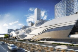 King Abdullah Financial District Metro Station
