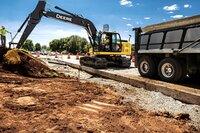 Mid-Size Excavators from John Deere