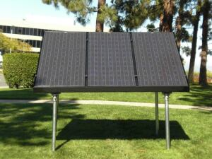 Ready Solar's new ground-mount system provides a solar option for homes without south-facing roofs.