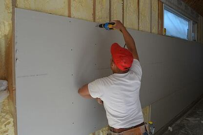Slideshow: The New American Home Drywall and Stucco