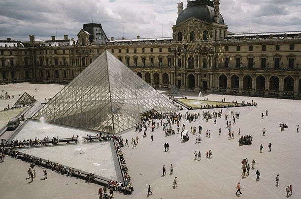 I. M. Pei's Louvre pyramid