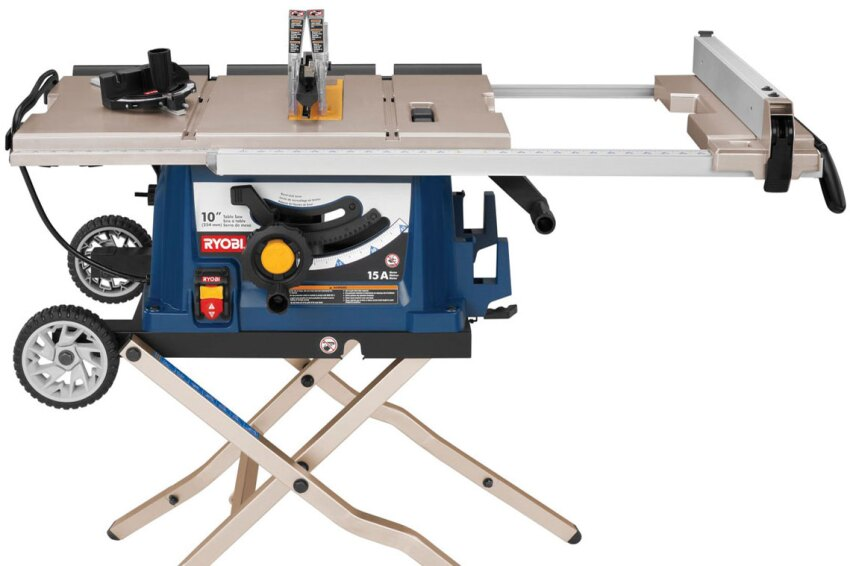 Ryobi 10-inch Portable Table Saw