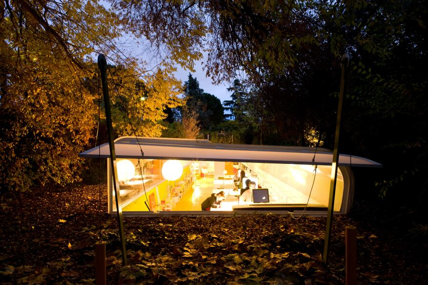 Office in the Woods, Madrid, 2006.