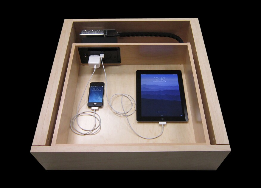 Clear Clutter And Dock Discreetly With The Docking Drawer