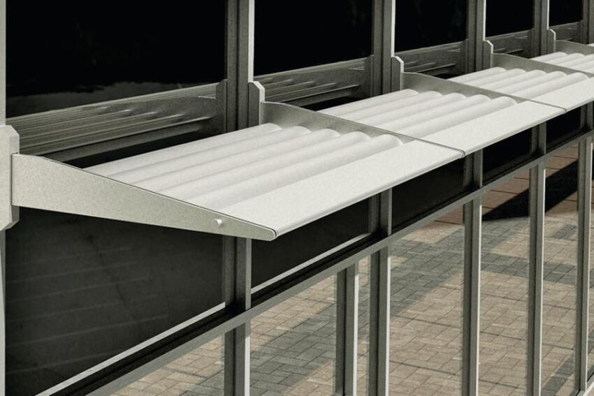 YKK AP Thermashade Sunshade System