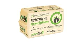 Greenfiber. Premium Grade Retrofit cellulose blownin wall and attic insulation features an allborate fireresistant formula. The new formulation also provides a higher level of dust suppressant the firm says and is easy to install over any existing insulation. It provides an installed Rvalue of 13 at 4.1 inches 19 at 6.1 inches and 30 at 9.4 inches. The product is SCScertified for 85 recycled content and carries Energy Star certification. 800.228.0024.  www.greenfiber.com.